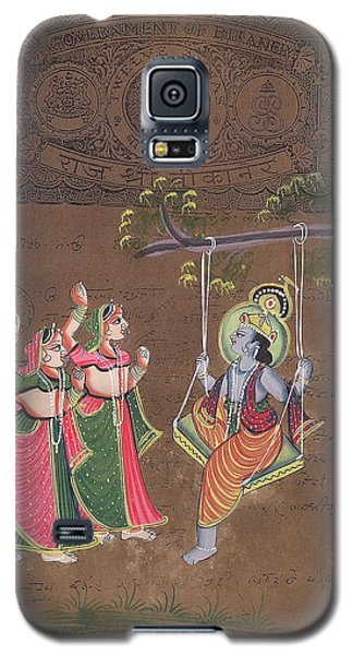 Krishna Galaxy S5 Case