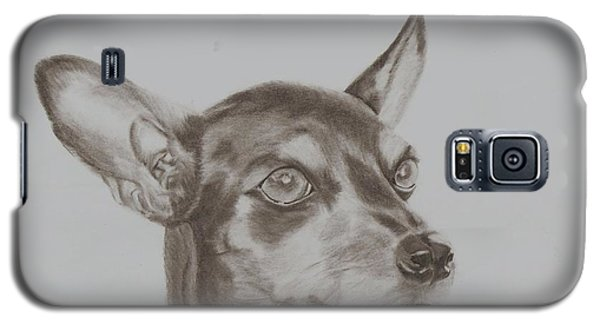 miniature pinscher Tronter Galaxy S5 Case