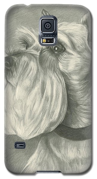Miniature Schnauzer Galaxy S5 Case