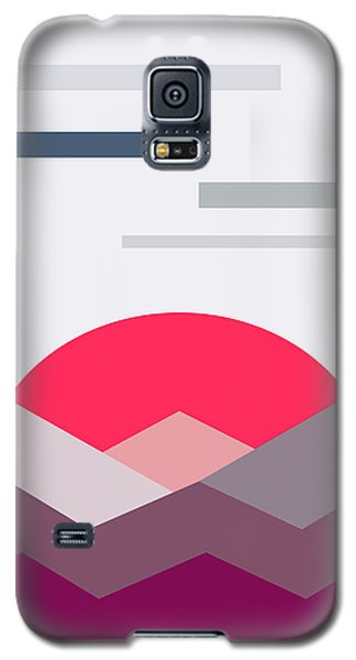 Minimalistic Landscape Galaxy S5 Case