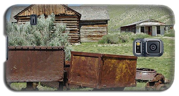 Mining Rail Cars Bannack Montana Galaxy S5 Case