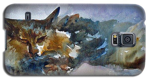 Minkey In Deep Dream Galaxy S5 Case by Jessamine Barron