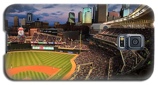 Minnesota Twins Minneapolis Skyline Target Field Galaxy S5 Case