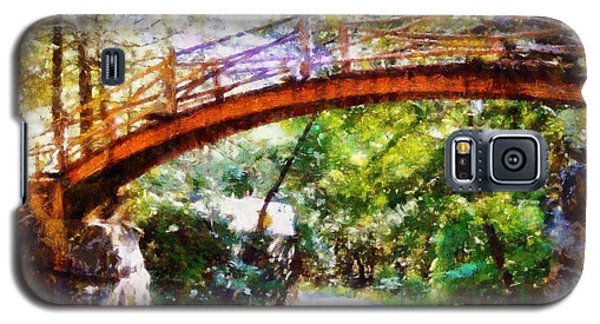 Minnewaska Wooden Bridge Galaxy S5 Case