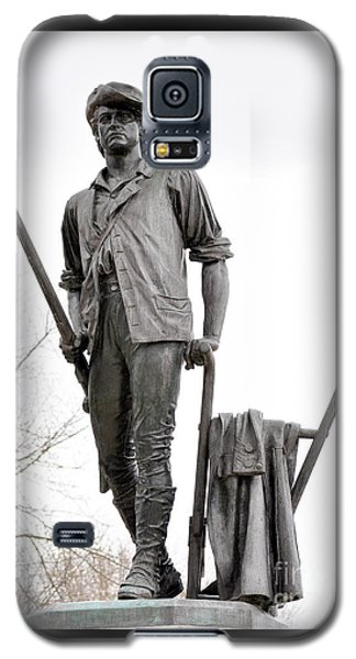 Minute Man Statue Galaxy S5 Case