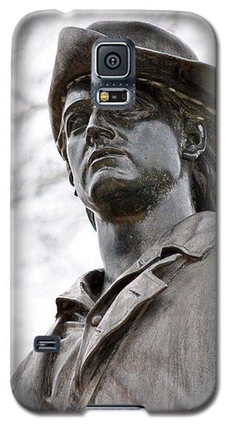 Minute Man Statue 3 Galaxy S5 Case