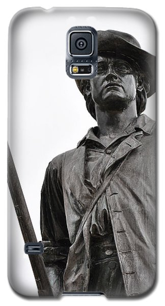 Minute Man Statue Concord Massachusetts Galaxy S5 Case