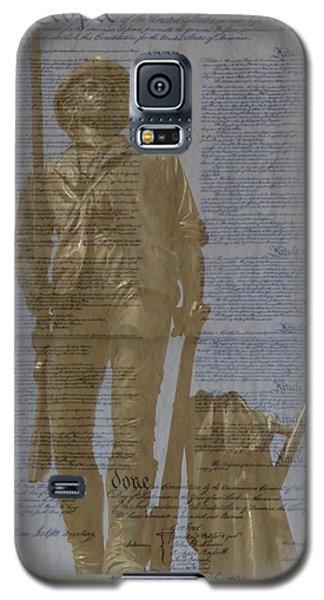 Minuteman Constitution Galaxy S5 Case