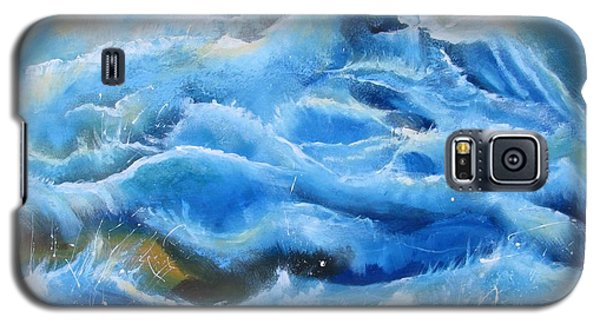 Galaxy S5 Case featuring the painting Miracles by Nereida Rodriguez