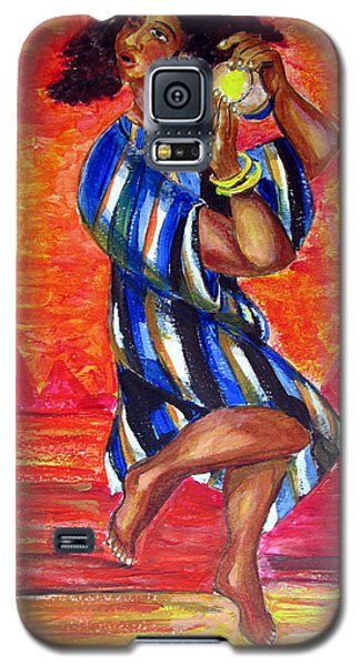 Miriam Dancing In Red Sea Galaxy S5 Case