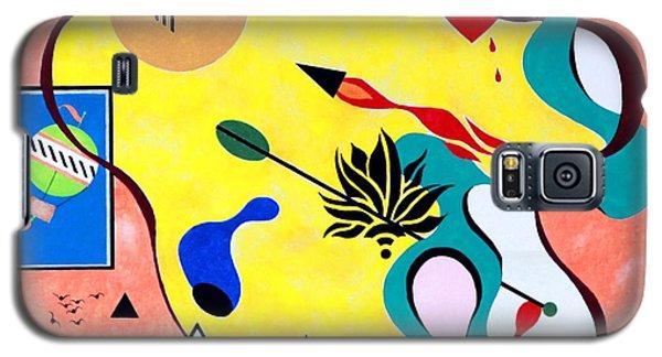 Miro Miro On The Wall Galaxy S5 Case by Thomas Gronowski