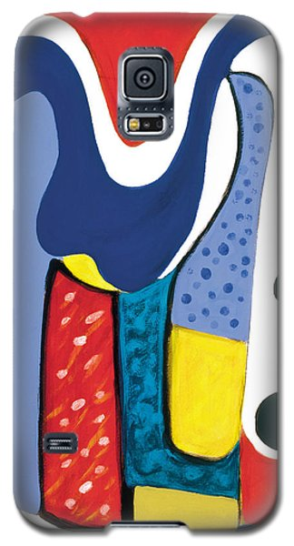 Galaxy S5 Case featuring the painting Mirror Of Me 1 by Stephen Lucas