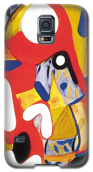 Galaxy S5 Case featuring the painting Mirror Of Me 2 by Stephen Lucas