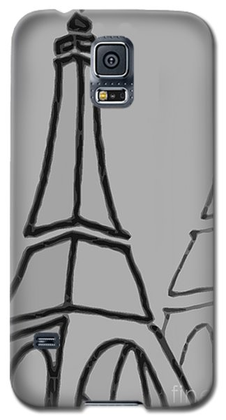 Mirrored Eiffel Tower Galaxy S5 Case