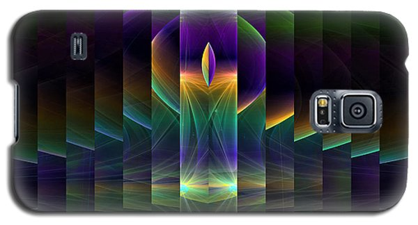 Mirrored Galaxy S5 Case by GJ Blackman