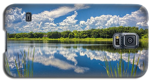 Mirrored Lake Galaxy S5 Case by Lewis Mann