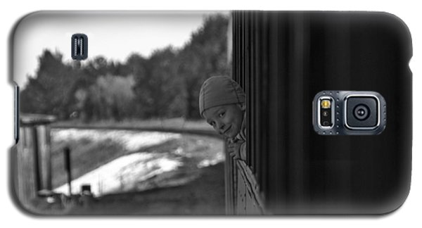 Galaxy S5 Case featuring the photograph Mischief by Jeremy Rhoades