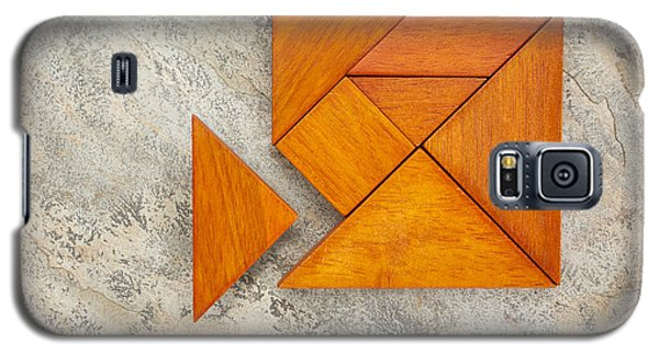 Misfit Concept With Tangram Galaxy S5 Case