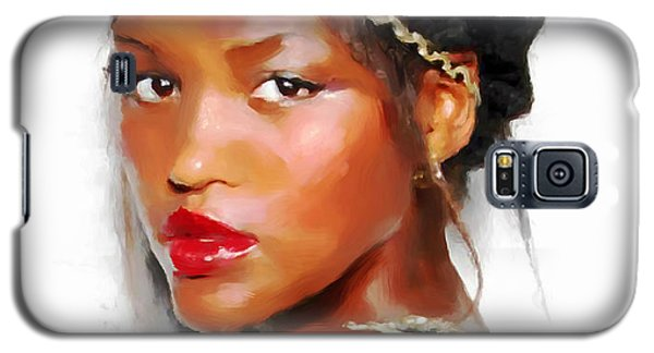 Galaxy S5 Case featuring the painting Miss Israel 2013 by Wayne Pascall