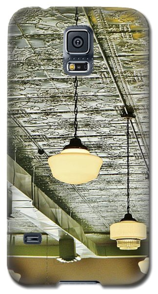 Galaxy S5 Case featuring the photograph Miss Martha's Ceiling by Jean Goodwin Brooks