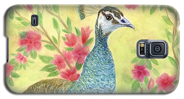 Miss Peahen In The Garden Galaxy S5 Case