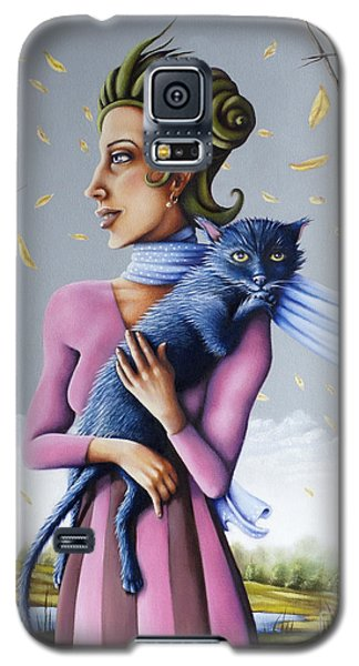 Miss Pinky's Outing Galaxy S5 Case