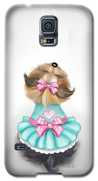 Miss Pretty Galaxy S5 Case
