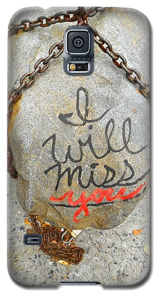 Galaxy S5 Case featuring the photograph Missing You by Joan Reese