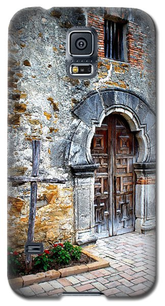 Mission Espada - Doorway Galaxy S5 Case by Beth Vincent
