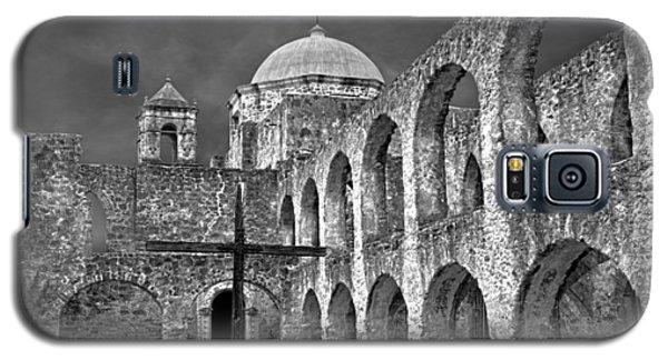 Mission San Jose Arches Bw Galaxy S5 Case
