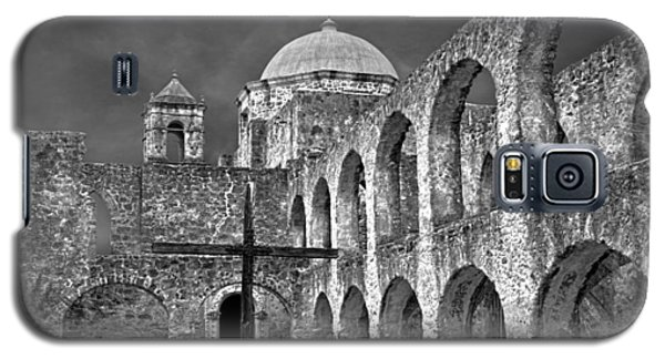 Mission San Jose Arches Bw Galaxy S5 Case
