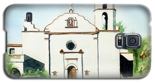 Mission San Luis Rey Colorful II Galaxy S5 Case