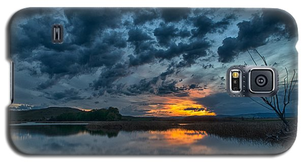 Mission Valley Sunset Galaxy S5 Case