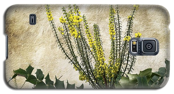 Galaxy S5 Case featuring the photograph Mission Wallflower by Ellen Cotton