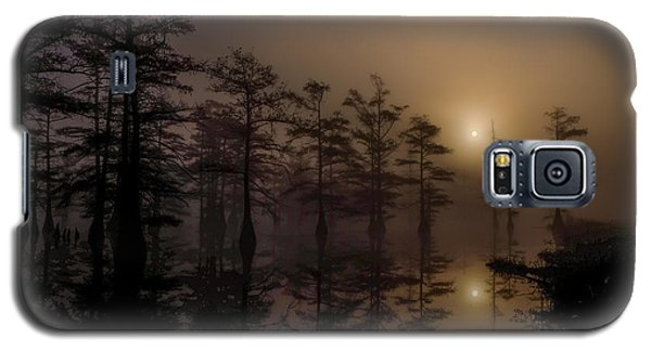 Mississippi Foggy Delta Swamp At Sunrise Galaxy S5 Case