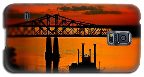 Mississippi River Natchez Sunset Galaxy S5 Case