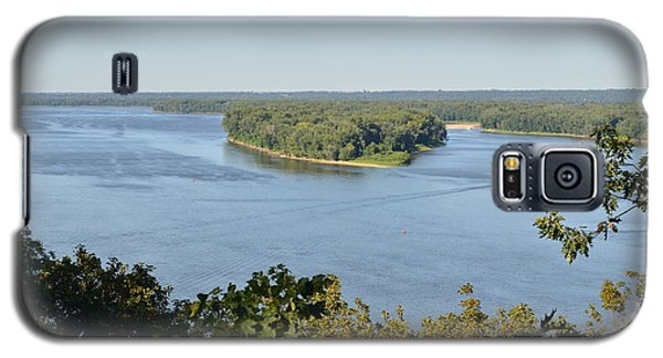 Mississippi River Overlook Galaxy S5 Case by Luther Fine Art