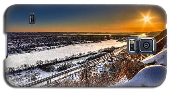 Mississippi River Sunrise Galaxy S5 Case