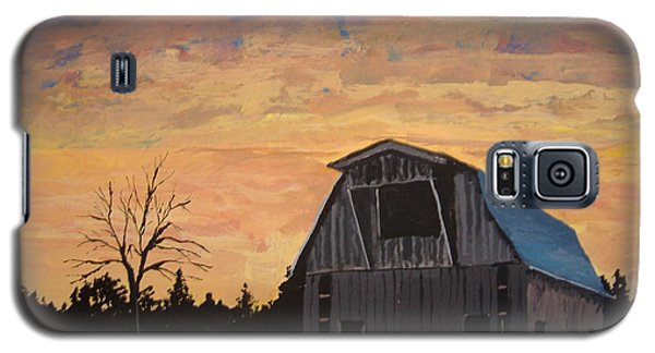 Galaxy S5 Case featuring the painting Missouri Barn by Norm Starks