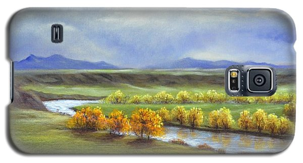 Missouri River At Fort Benton Galaxy S5 Case