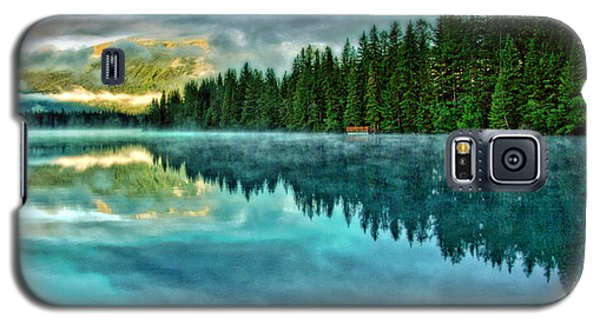 Mist And Moods Of Lake Beauvert  Galaxy S5 Case