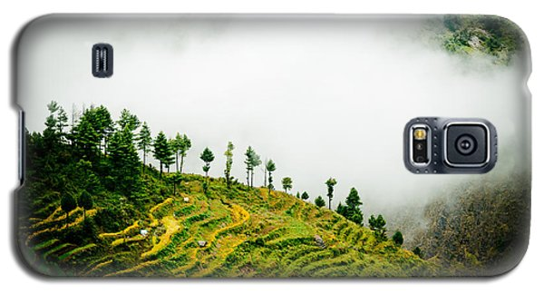 Mist In Mountain Himalayas Color Galaxy S5 Case