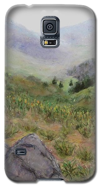 Mist In The Glen Galaxy S5 Case by Laurie Morgan
