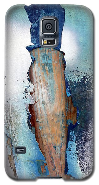 Galaxy S5 Case featuring the photograph Mister Blue by Robert Riordan