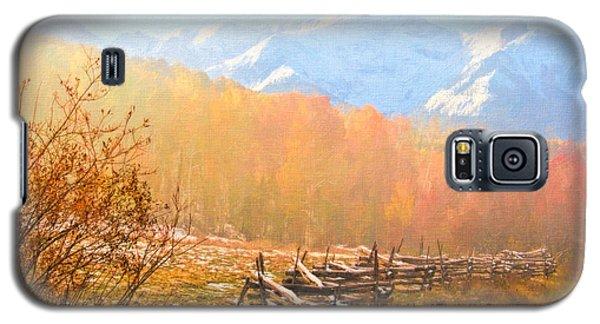 Misty Autumn Galaxy S5 Case