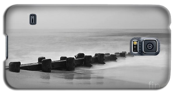 Misty Beach Morning Galaxy S5 Case