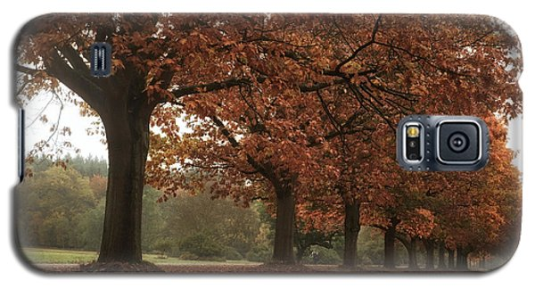 Galaxy S5 Case featuring the photograph Misty Colours Of Autumn by Shirley Mitchell