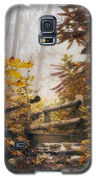 Misty Footbridge Galaxy S5 Case