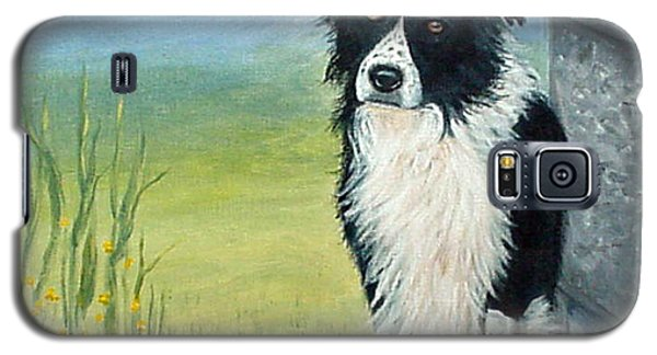 Galaxy S5 Case featuring the painting Misty by Fran Brooks