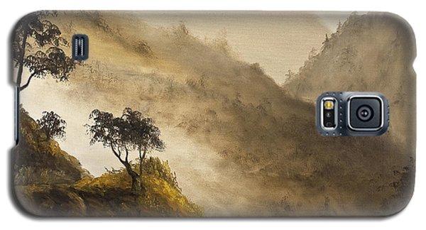 Misty Hills Galaxy S5 Case by Darice Machel McGuire
